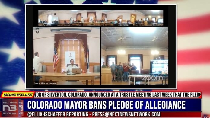 All Hell Breaks Loose After Mayor Bans 'The National Anthem'...