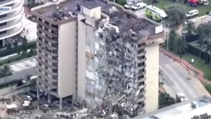 Must See: Trump Praises First Responders in Miami Building Collapse...