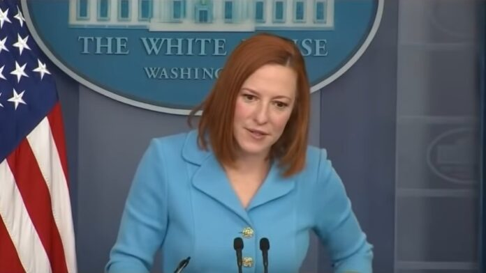 Watch Psaki Get Triggered: Mocks a Reporter Over National Security Question...