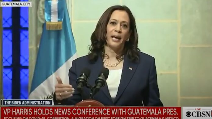 See This: Kamala Harris was Protested in Guatemala Over Border...
