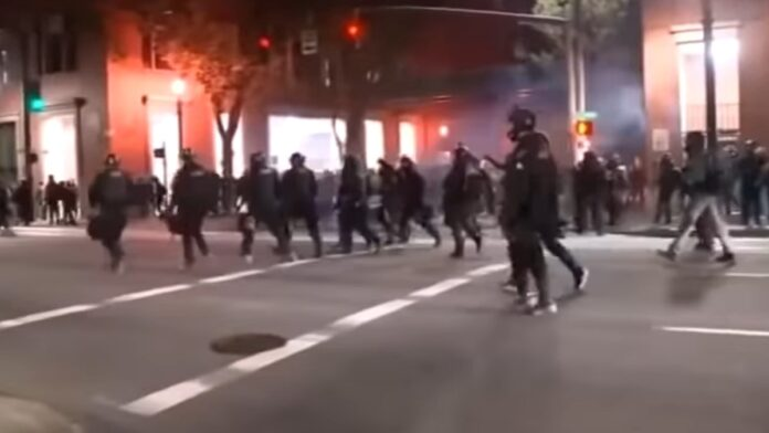 The Entire Portland Riot Squad Resigns After This Stunt...