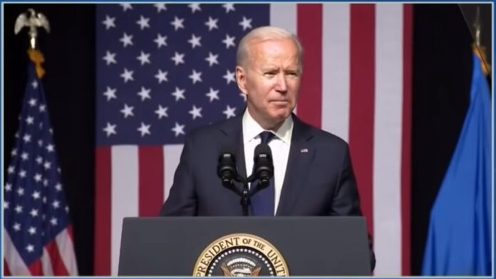 Watch: Angry Biden Goes Off the Rails on a Racist Rant...