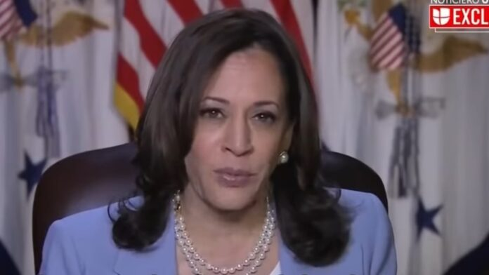 Watch Kamala Snap on a Reporter for Asking About the Border...