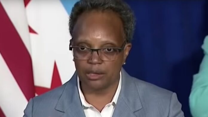 Watch Lightfoot and Reporter Clash Over 'Crime Surge' in Chicago...