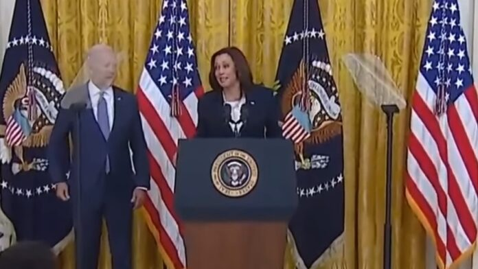 Watch This: Cackling Kamala is Beside Herself on This One...